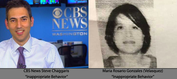 CBS News Fires Steve Chaggaris; SolAero Technologies Protects Maria Rosario Gonzales Velasquez